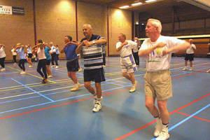 Seniorensport om ouderdomsklachten te voorkomen