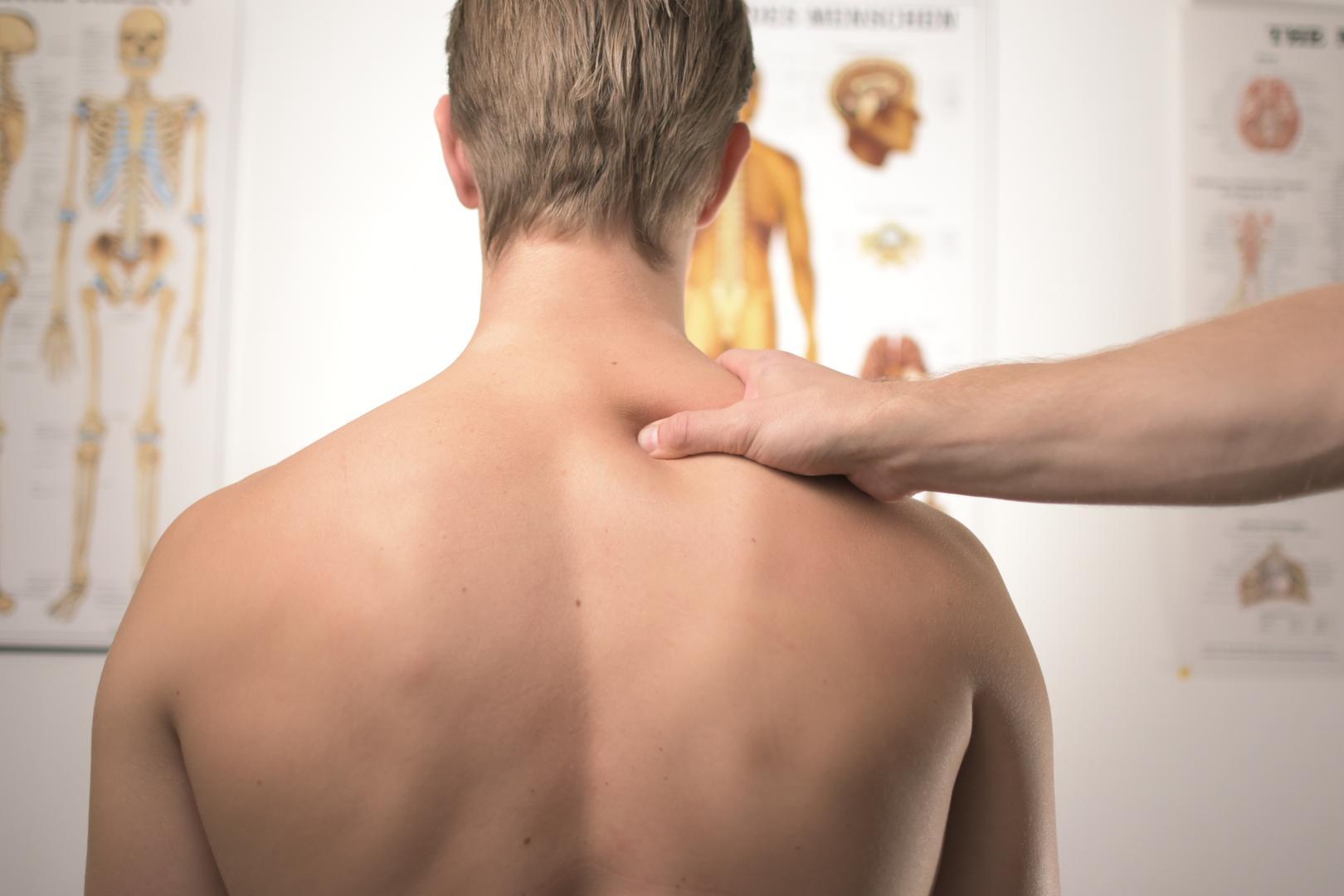 Therapeutische massage voor een betere lichaamshouding