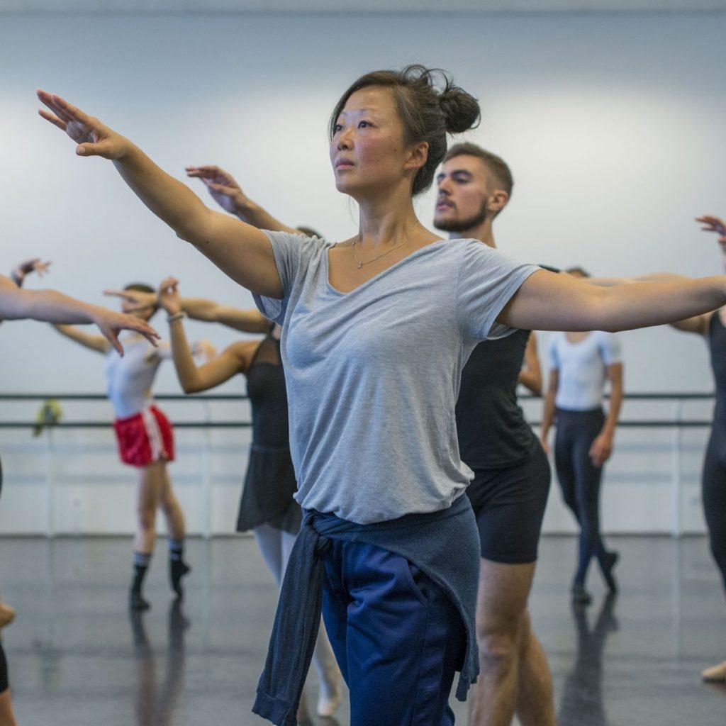 training op de dansacademie